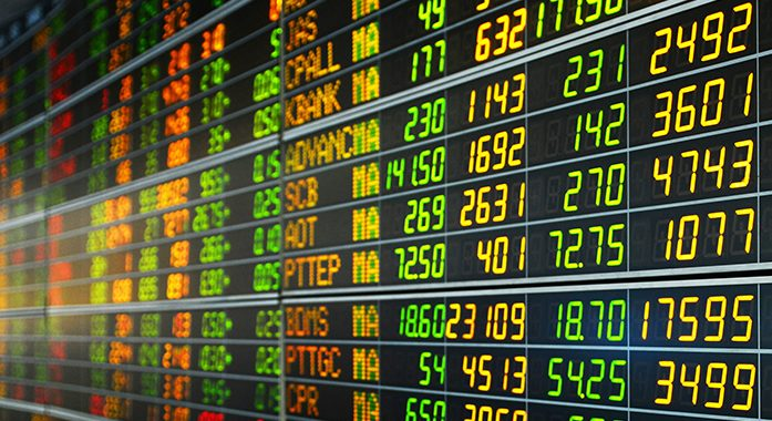 ดัชนีหุ้นไทย 18 ต.ค. ปิดตลาด 1,631.43 จุด ลดลง 1.37 จุด